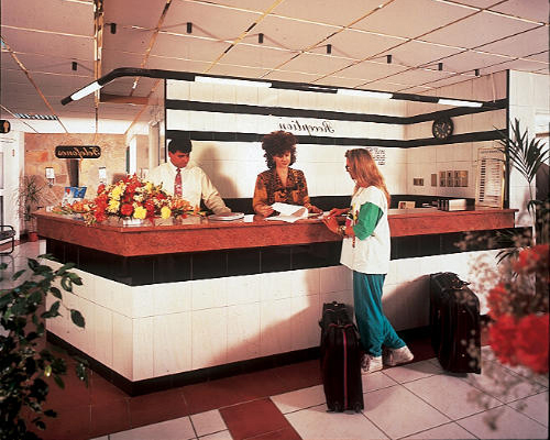 San Remo Hotel Reception