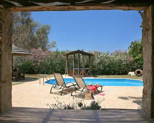 Villa Pomos Med I or Med II Jacuzzi and Pool