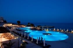 The Royal Apollonia Pool by Night
