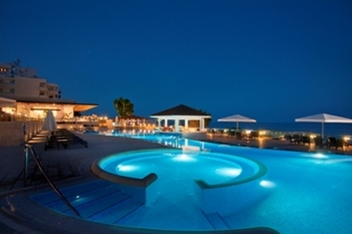 The Royal Apollonia Pool by Night 2