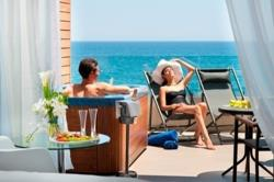The Royal Apollonia Room with Outdoor Jacuzzi