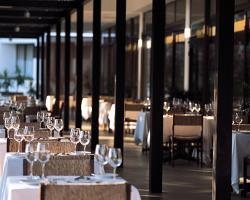 Almyra Mosaics Restaurant Terrace