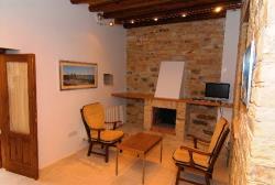 Skarinou Traditional Houses Anesi House Fireplace