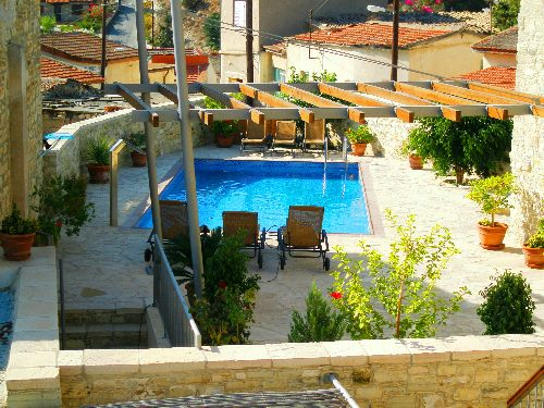 Skarinou Traditional Houses Anesi House Pool