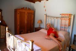 Skarinou Traditional Houses Anna House bedroom
