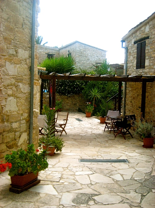 Skarinou Traditional Houses Michalis House Garden