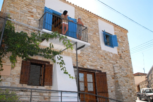 Skarinou Traditional Houses Lito House Balcony