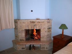Skarinou Traditional Houses Lito House Fireplace