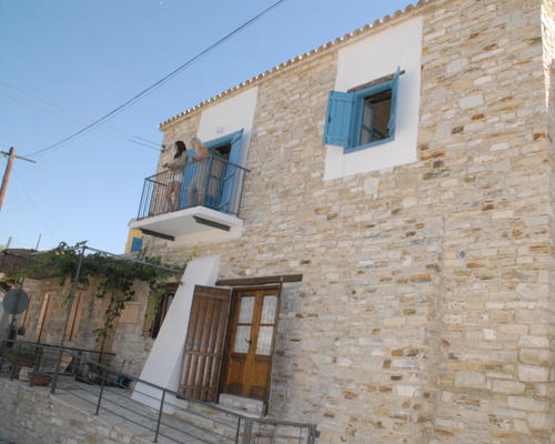 Skarinou Traditional Houses Building