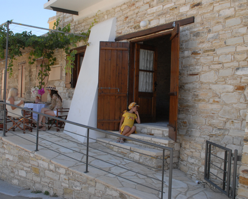Skarinou Traditional Houses Entrance