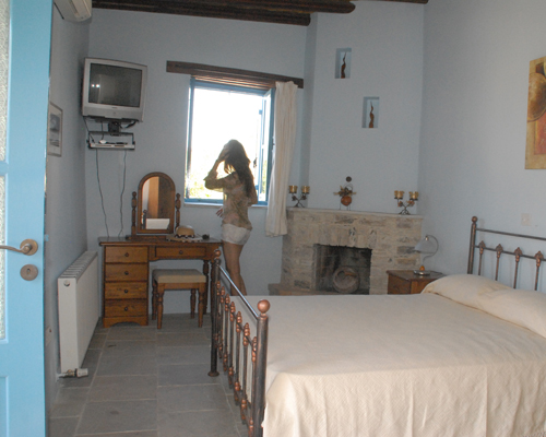 Skarinou Traditional Houses Bed Room