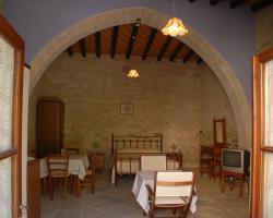 Skarinou Traditional Houses Living and Dinning