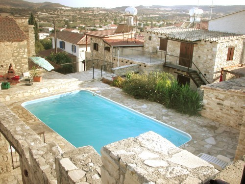 Skarinou Traditional Houses Cosma House - Pool