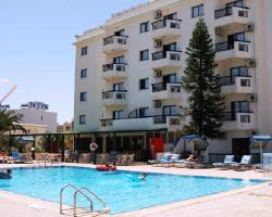 Livas Hotel Apartments Building and Pool View