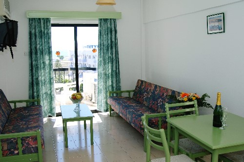 Livas Hotel Apartments Living Room 2