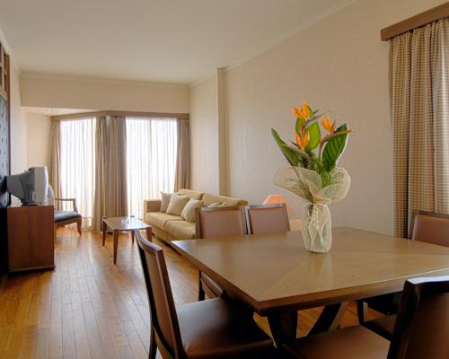 Crown Resort Horizon Suite Sitting Area