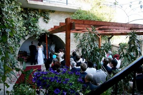 Vasilias Nikoklis Inn Religious wedding ceremony