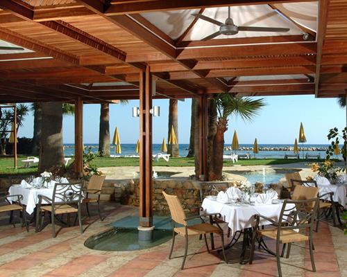 Palm Beach Hotel La Pergola Restaurant