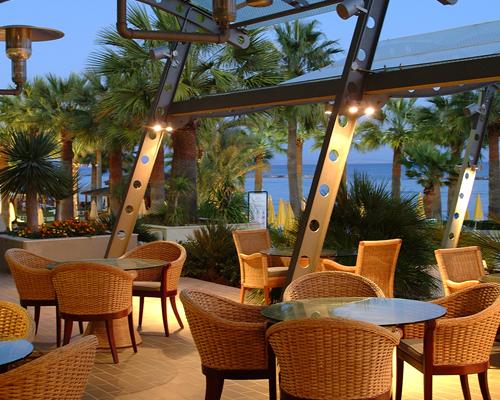 Palm Beach Hotel Piano Bar Terrace