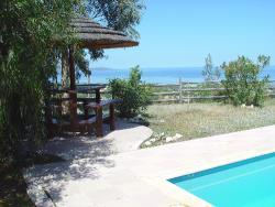 Villa Mediterranean Coast View of Garden