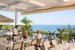 Mediterranean Beach Hotel Celeste Terrace Restaurant