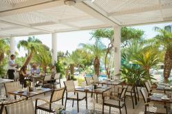 Mediterranean Beach Hotel Aquaria Restaurant Terrace