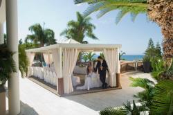 Mediterranean Beach Hotel Wedding Cazebo
