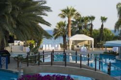 Mediterranean Beach Hotel Wedding Pool Overview