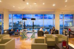 Mediterranean Beach Hotel Clouds Lobby Lounge 3