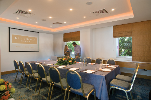 Mediterranean Beach Hotel Karavi Syndicate Room