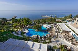 Mediterranean Beach Hotel Aerial View