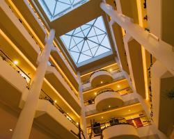 Mediterranean Beach Hotel Atrium