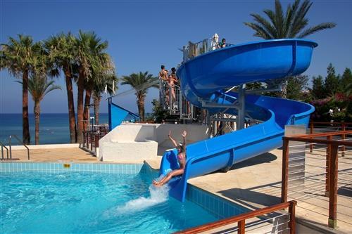 Golden Coast Hotel Water Slide