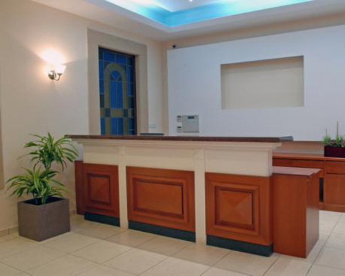 Pyramos Hotel Reception