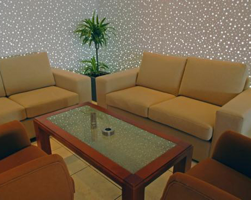 Pyramos Hotel Sitting Room