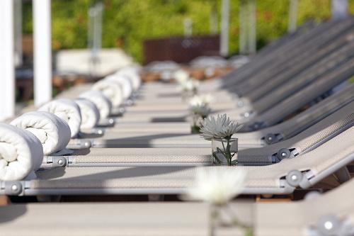 Capo Bay Hotel Pool Sunbeds