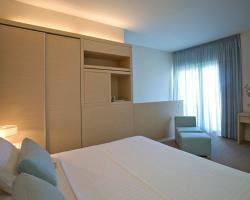 Capo Bay Hotel Duplex Garden Suite Bedroom