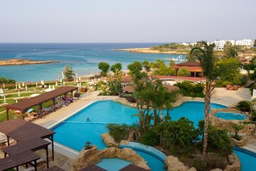 Capo Bay Hotel Panoramic View of Pool & Gardens