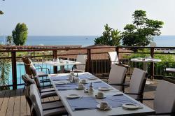 Capo Bay Hotel Cape Greco Restaurant Outdoor