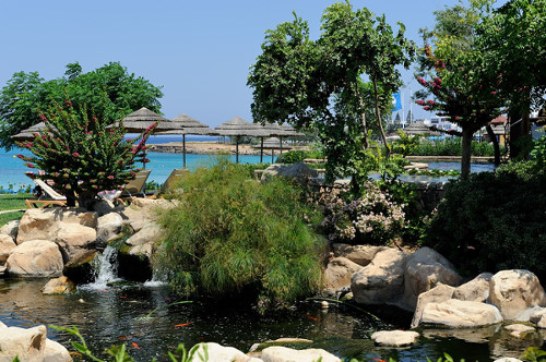 Capo Bay Hotel Fish Pond