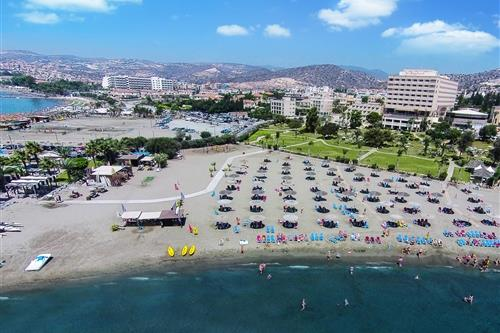 St. Raphael Resort Aerial View Exterior, Gardens and Beach