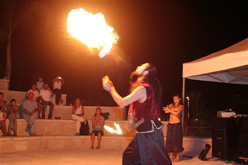 St. Raphael Resort Fireshow
