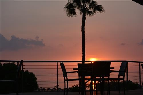 St. Raphael Resort Captain's Terrace Sunset