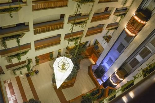 St. Raphael Resort Aerial View of Lobby