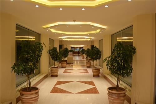 St. Raphael Resort Hotel Corridor Entrance