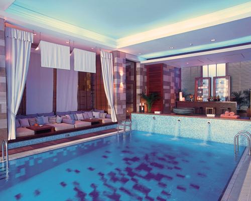 Columbia Beach Resort Indoor Pool