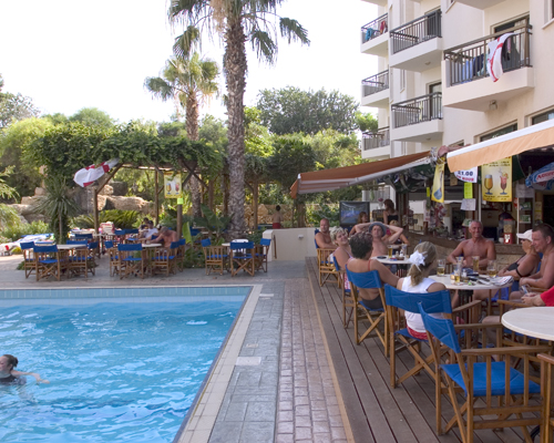 Alva Hotel Apartments Pool Bar