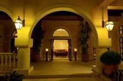 Elysium Hotel Arched Corridor