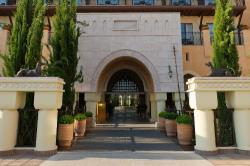 Elysium Hotel Entrance