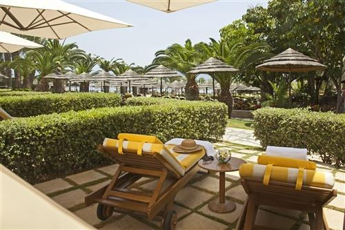 Four Seasons Hotel Private Sundbeds